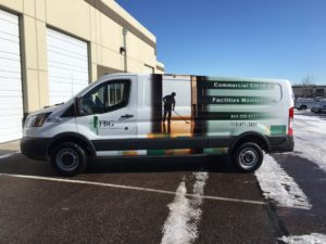 Protecting vehicle wrap in winter